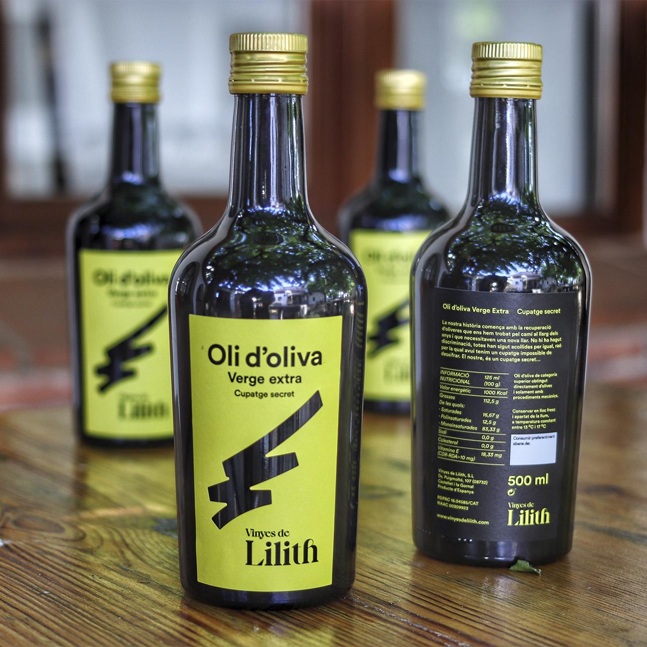 Oli d'Oliva Verge Extra Cupatge Secret